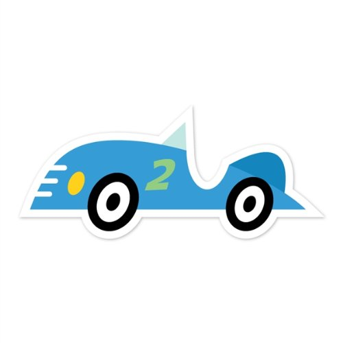 Walls 360 peel stick wall decals caleb gray studios for Amazing race car wall decals