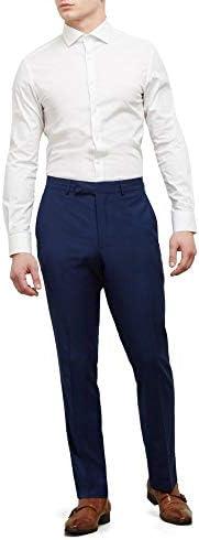 Royal blue pant suits _image3