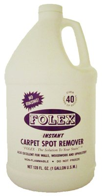 (Folexport FSR128 Folex Gallon Spot Remover, 1 White Bottle)
