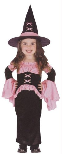 [Morris Costumes Witch Pretty Pink Toddler Larg] (Witch Pretty Pink Toddler Costumes)