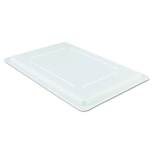 (Rubbermaid Commercial 3502WHI Food/Tote Box Lids, 26 w x 18 d, White)