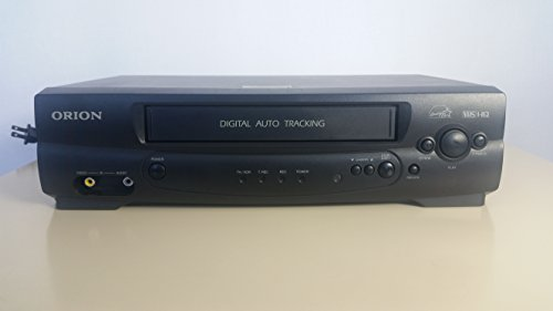 Orion VR313A VCR VHS Video cassette recorder player Cassette Tape Digital Auto Tracking Energy Star