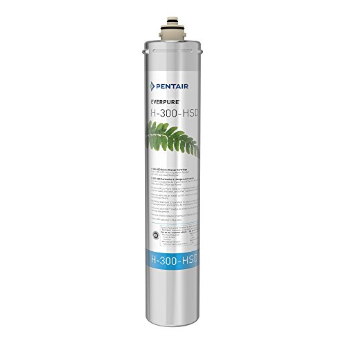 - Everpure EV927075 H-300+HSD Water Filter Cartridge