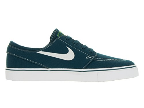 Nike Uomo Zoom Stefan Janoski Cnvs Midnight Turq / Bianco / Volt / Scarpa bianca Skate 10 Uomo US Colecciones Mejor Tienda A Comprar Barato En Línea M5rryclTZC