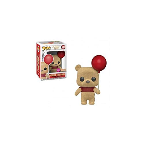 Funko POP! Disney: Christopher Robin - Winnie The Pooh [With Red Balloon - Flocked] # 440 - BoxLunch Exclusive!