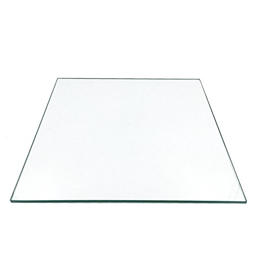 3D Printer Borosilicate Glass Build Plate For Heated Bed RepRap/CTC/ANET (220x220x3mm) by BALITENSEN