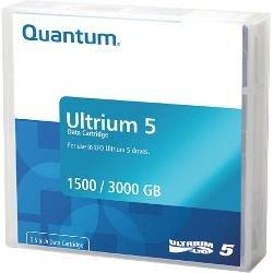 Quantum Contains Qty 10 Mr-l5mqn-01 Ultrium-5 Data Cartridges. 1500gb Native / 3000gb C by Quantum