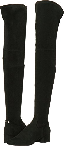 Dolce Vita Women's Jimmy Over The Knee Boot, Black Stella Suede, 8.5 Medium US by Dolce Vita