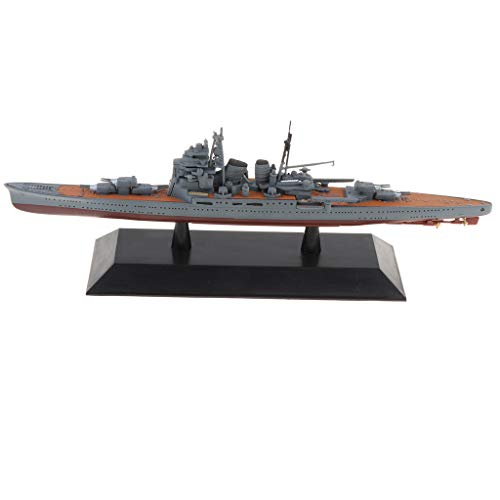 (Flameer 1/1000 Japanese Empire Navy Battle Ship INJ Battleship Serries Model Toy for Kids Adults - Chokai, 19.1 x 3 x 5.1 cm)