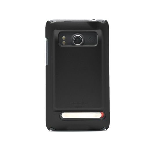 Seidio SURFACE Extended Case for HTC EVO - Black - 1 Pack - Retail Packaging