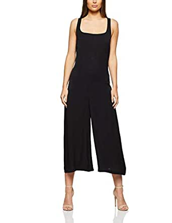 THIRD FORM Women's Bound Back Jumpsuit, Black, Extra Small