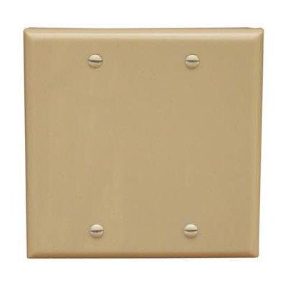 Morris 81520 Lexan Wall Plate, Decorative/GFCI, 2 Gang, Ivory ()