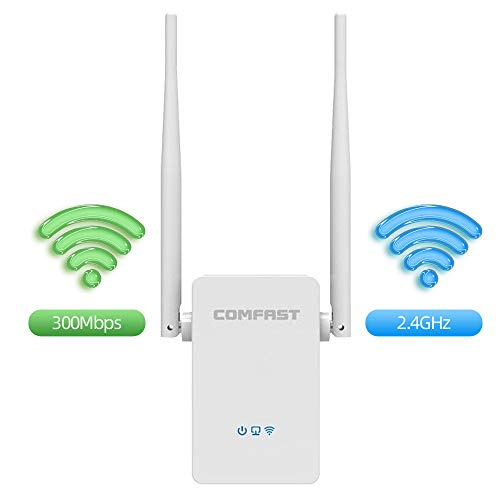 WiFi Range Extender, 300Mbps WiFi Extender, WiFi Signal Booster/Repeater/Access Point, with High Gain Dual External Antennas and 360 Degree WiFi Coverage/Easy Set-Up best to buy