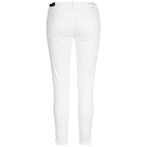 True Religion Jeans - Jennie Curvy Skinny Crop Weiß tf2TeV6oZm