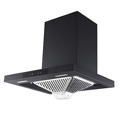 KAFF Kitchen Dry Heat Auto Clean Chimney 60 cm 1180 M3/H (Eden DHC 60,Life Time Warranty*)