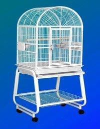 22″ X 17″ X 66″ Small Hook Bill Bird Cage w/ Storage Shelf, My Pet Supplies