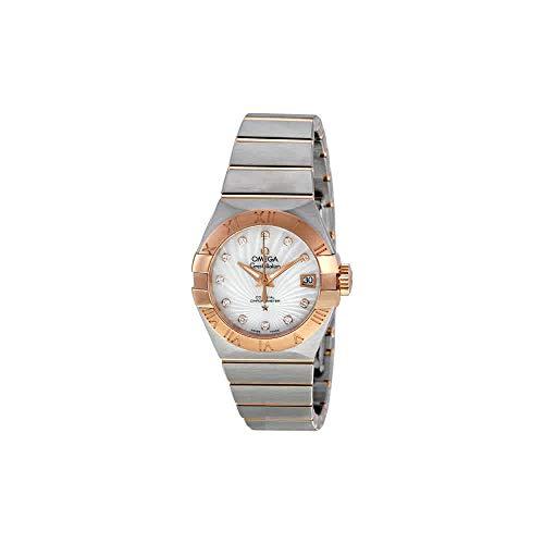 - Omega Constellation Brushed Chronometer Ladies Watch 123.20.27.20.55.001