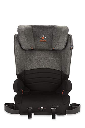 Diono Monterey XT Booster – 2-in-1 Car Seat - High Back and Backless Booster - Forward-Facing 40-120 Pounds - Expandable Seat Width to 20' - Safety That Grows with Your Child, Heather