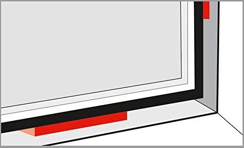 Ramsauer Trage-Montage-Distanzkl/ötze 100 St/ück 80x20x2mm rot