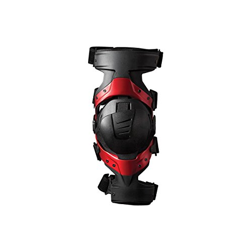 EVS Axis Pro Adult Knee Brace Off-Road Motorcycle Body Armor - Black / Large - Pair (Evs Body Armor)