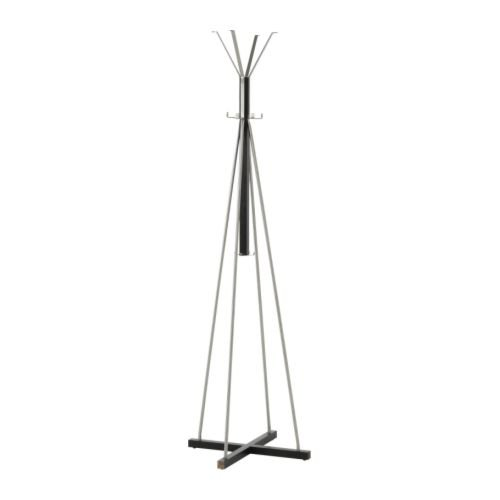 IKEA TJUSIG - Hat y perchero, negro - 191 cm: Amazon.es: Hogar