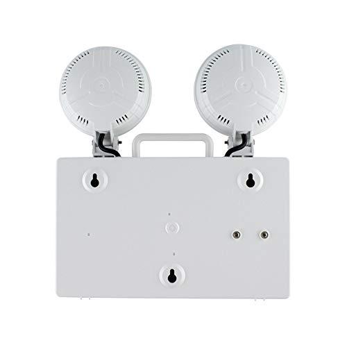 Balise de Secours LED TwinSpot Circulaire 3W LEDKIA
