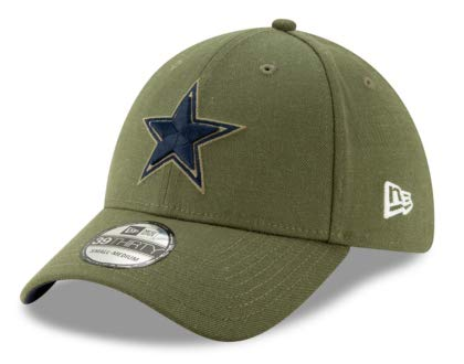 newest f38a2 816a4 Dallas Cowboys New Era Salute to Service 39Thirty Cap,L/XL