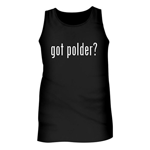 Tracy Gifts Got polder? - Men's Adult Tank Top, Black, XX-Large (Trash Cans Polder)
