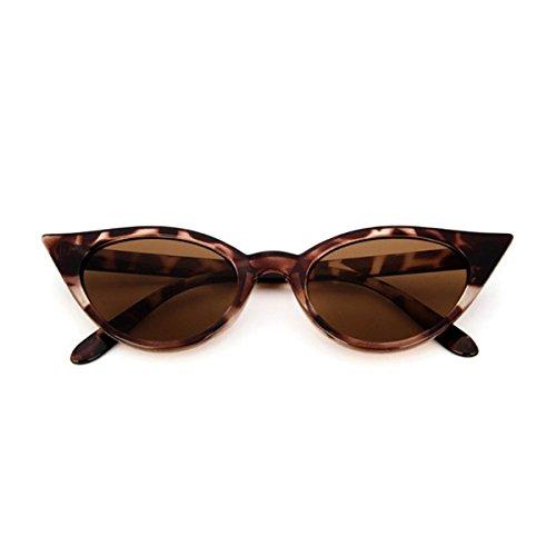 Catado Para Gafas Retro A05 Sol Sol Gafas ECYC® De Leopardo Polarizadas De Marco Grueso Estilo Mujer qAWpTwOIx