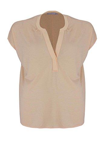 Betty & Co Shirt V-Ausschnitt Apricot