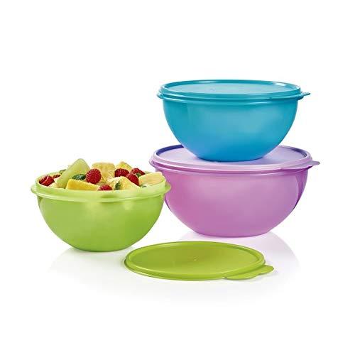 - New Tupperware Wonderlier Bowl Set 3 in New Colors (Large)