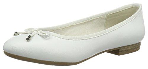 Bianco White Marco Ballerine 100 Donna Tozzi22137 HnHTt0a