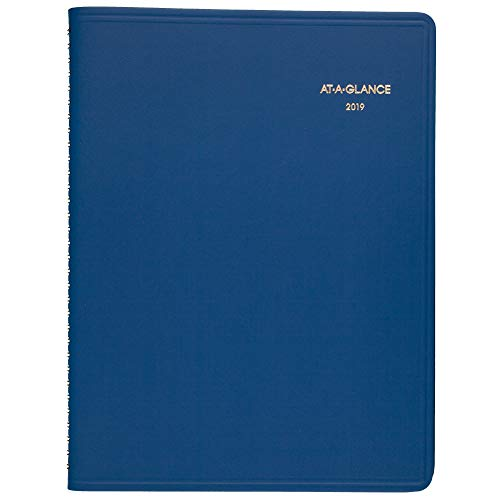 "AT-A-GLANCE 2019 Weekly Planner / Appointment Book,8-1/2"" x 10-7/8"", Large, Blue (7094020)"