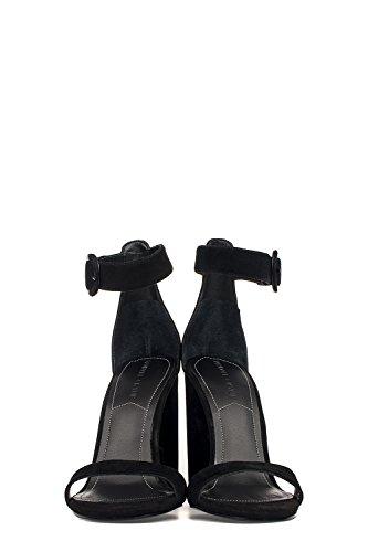 Kendall + Kylie Femme KKGISELLE02 Noir Cuir Sandales