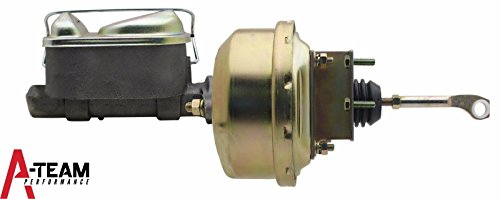 Mustang Power Brake (A-Team Performance 1964 65 66 Mustang Power Brake Booster, Master Cylinder for Automatic Trans)