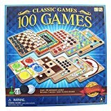 Classic 100 Games Perfect family games! (Board Set Multi Game)