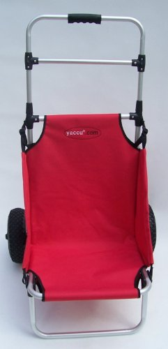 Beach rolly alternative  YACCU Rolly Beach Strandwagen rot: Amazon.de: Sport & Freizeit