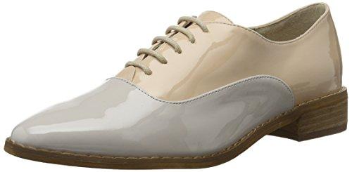 Jfm17 Elfenbein Bianco Oxford Dress Zapatos Neutral Mujer Up Laced q0FP0tg