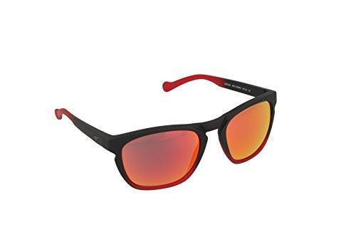 Arnette Groove AN4203-01 Polarized Rectangular Sunglasses, Black, 55 - Lv Sunglasses Mens