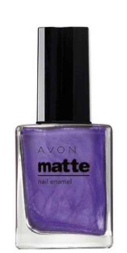 Amazon.com : Avon Matte Nail Enamel in Violetta : Nail Polish : Beauty