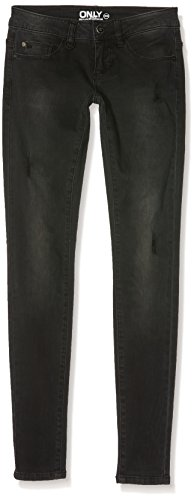 Mujer Jeans Dnm Black Noos Bj5783 Skinny Sl Only Onlcoral Negro w7Cq0HH