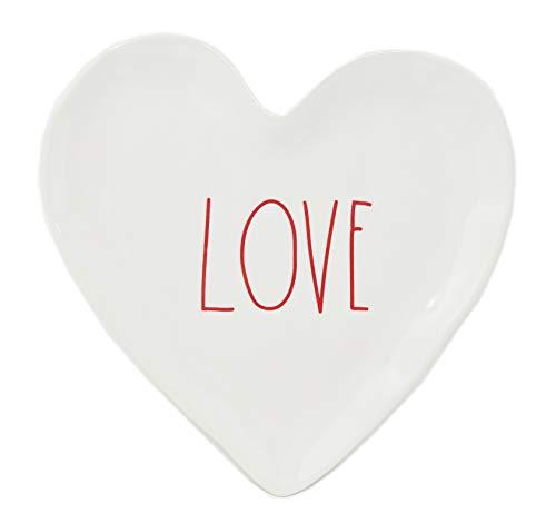 Rae Dunn heart shaped