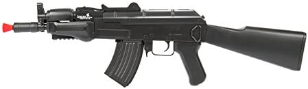 lancer tactical full metal gearbox beta spetsnaz aeg black polymer body Airsoft Gun