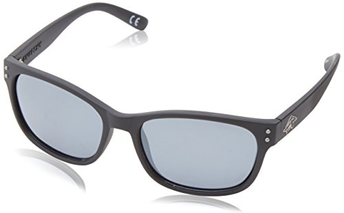 Anarchy Men's Vert Polarized wayshape Sunglasses,Black Rubberized,55 - Sunglass Styles 2014
