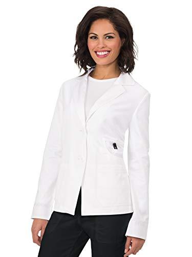 KOI 425 Women's Macie Lab Coat White M
