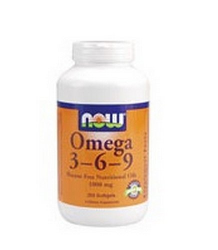 NOW Foods Omega 3-6-9 1000mg, 250 gélules