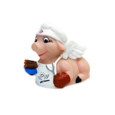 CelebriDucks Holy Smoker Rubber Duck Bath Toy: Toys & Games