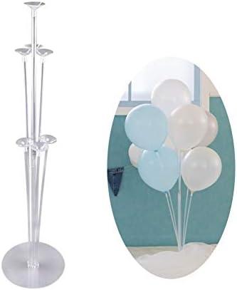 バルーンスタンド 風船ホルダー 卓上式 バルーンスティック 風船留め具 風船 デコレーション 誕生日 結婚式 パーティー 飾り付け 説明書付き (1個セット)