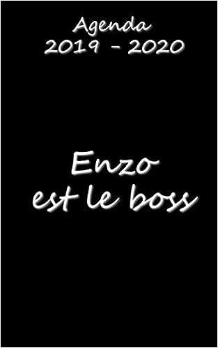Téléchargez Agenda 2019 - 2020 Enzo est le boss EPUB gratuitement en Français