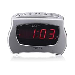 Timex® Nature Sounds Alarm Clock with .9 Display